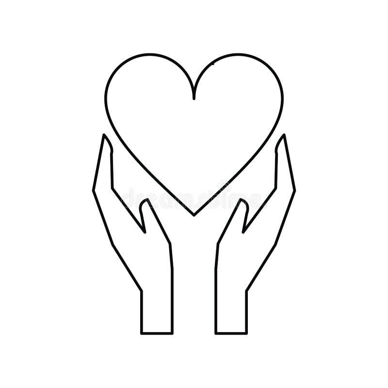 Руки держат сердце рисунок карандашом фото