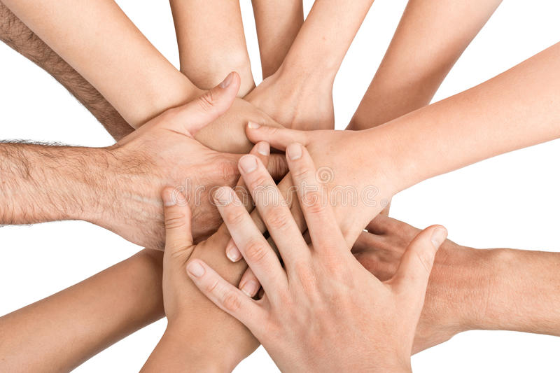Download Руки держа совместно стоковое фото. изображение насчитывающей удерживание - 41660862