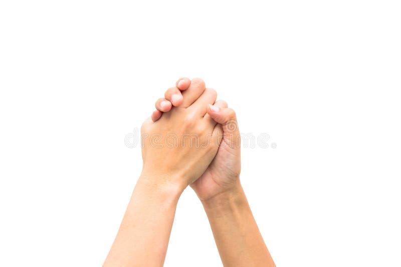 Download Руки на изолированной предпосылке Стоковое Фото - изображение насчитывающей номер, рука: 33725718