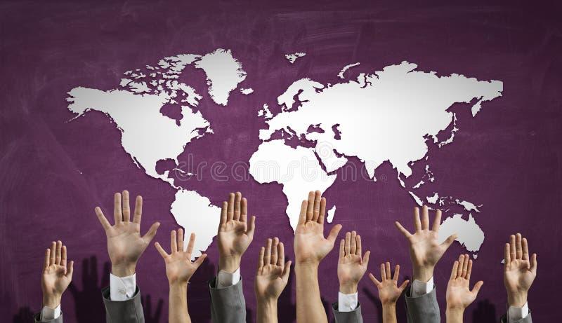 Download Руки подъема группы людей Мультимедиа Стоковое Фото - изображение насчитывающей знак, группа: 81808134