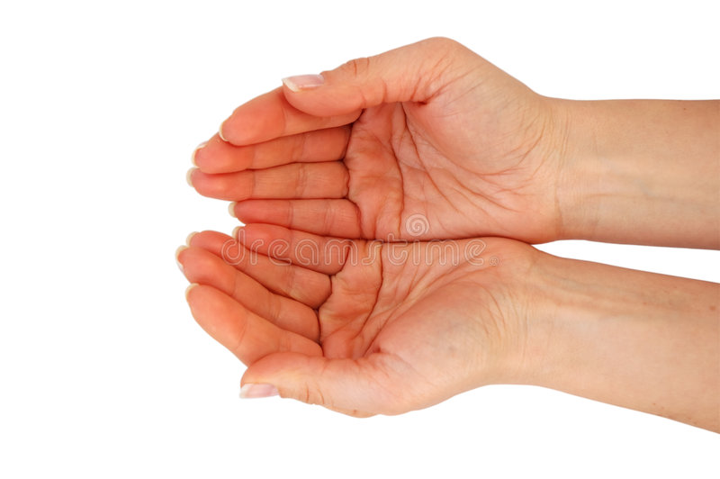 руки раскрывают стоковые изображения