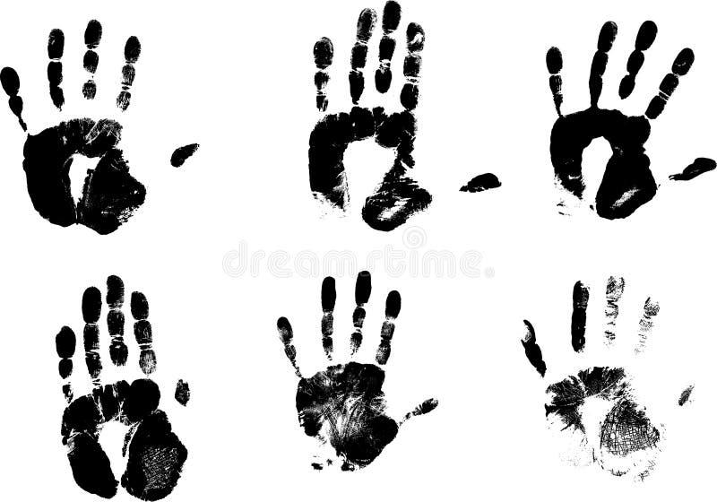 руки следа ноги бесплатная иллюстрация