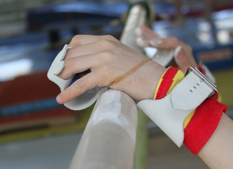руки штанг стоковое изображение