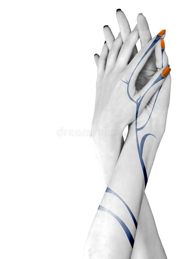 руки 2 стоковая фотография