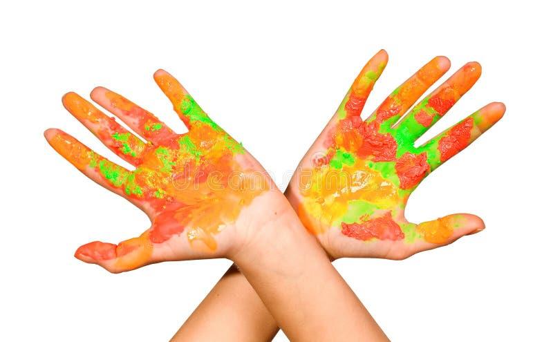 руки s детей стоковые фото