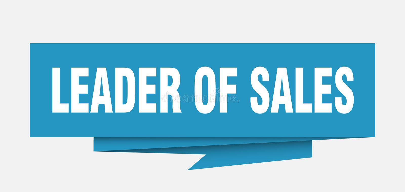 Руководитель продаж иллюстрация вектора