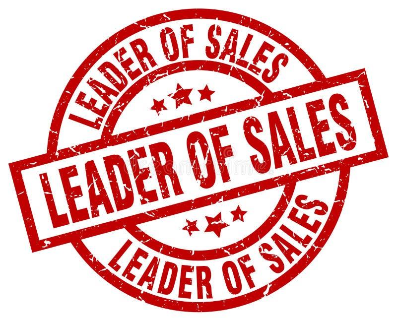 Руководитель штемпеля продаж иллюстрация вектора