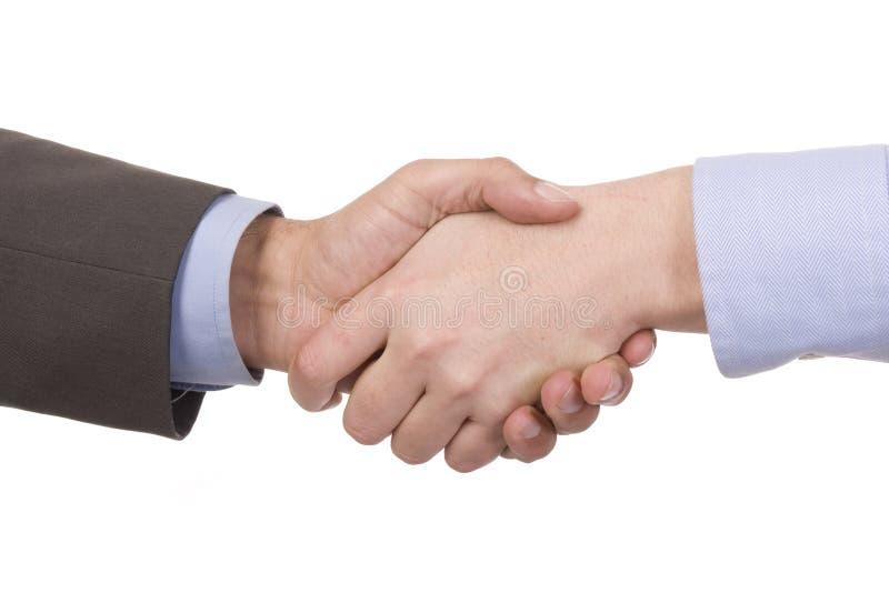 рукопожатие успешные 2 предпринимателей стоковые фотографии rf
