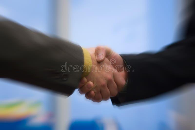 рукопожатие стоковая фотография rf