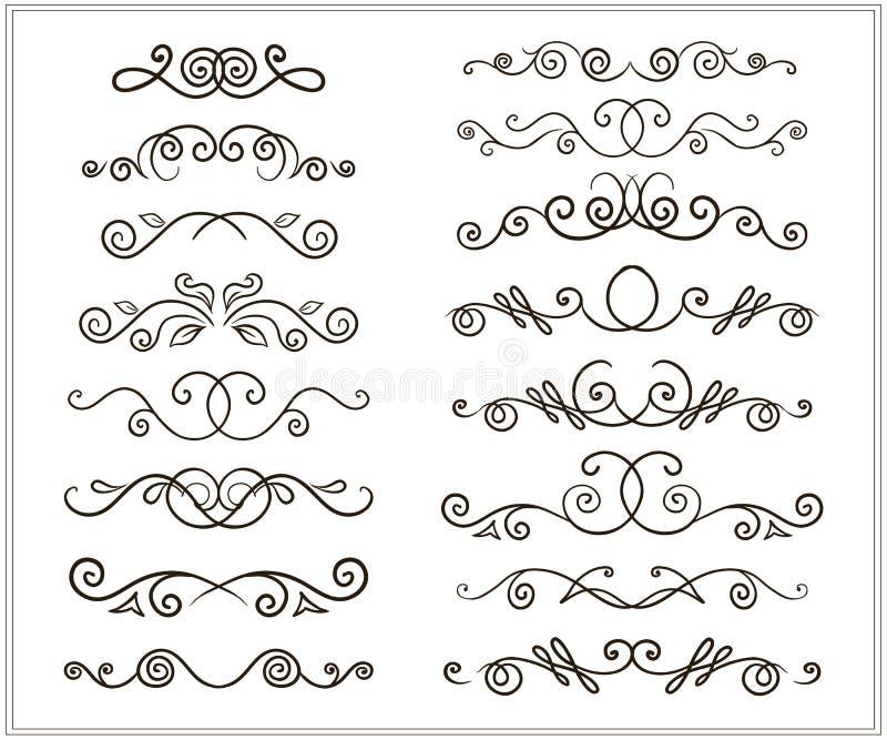 Рук-чертеж doodles граница иллюстрация вектора