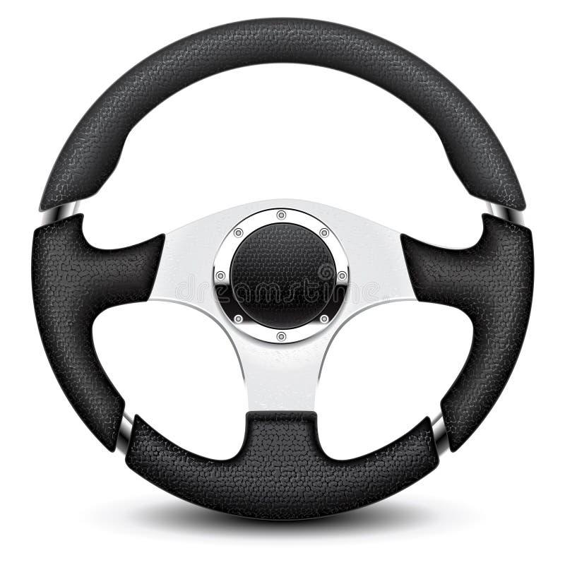 Рулевое колесо иллюстрация вектора