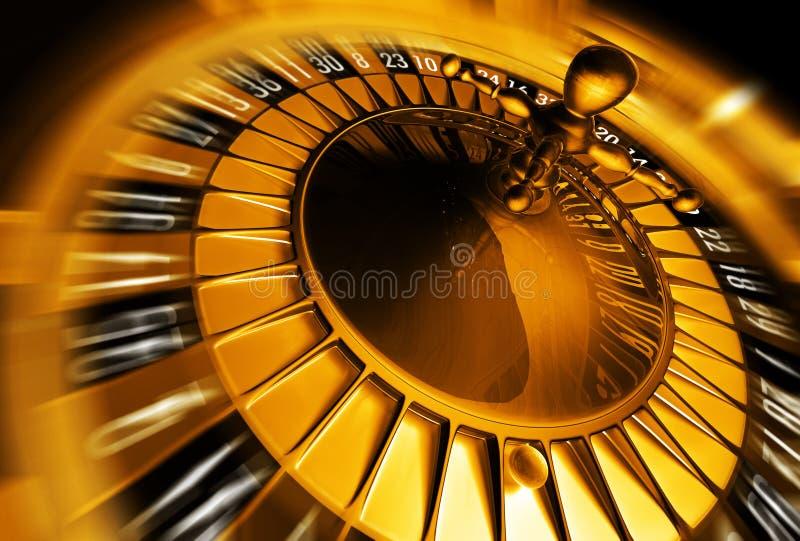 рулетка принципиальной схемы золотистая иллюстрация штока