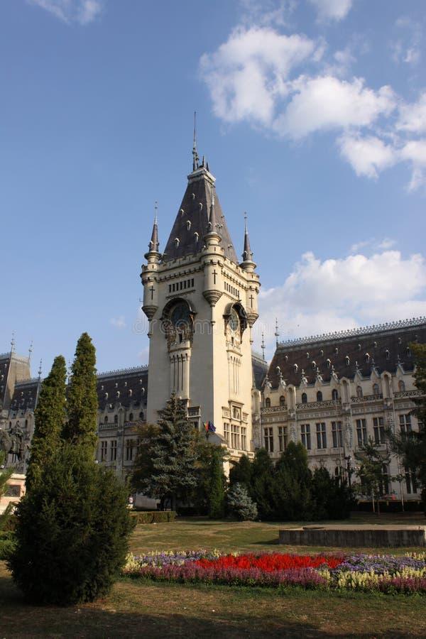 Румыния Культурный дворец от Iasi, купол стоковое изображение
