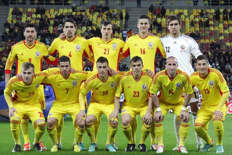 Румынская национальная команда стоковые изображения rf