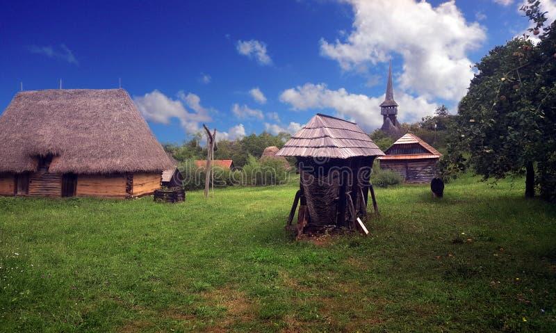 Румынская ферма стоковое изображение