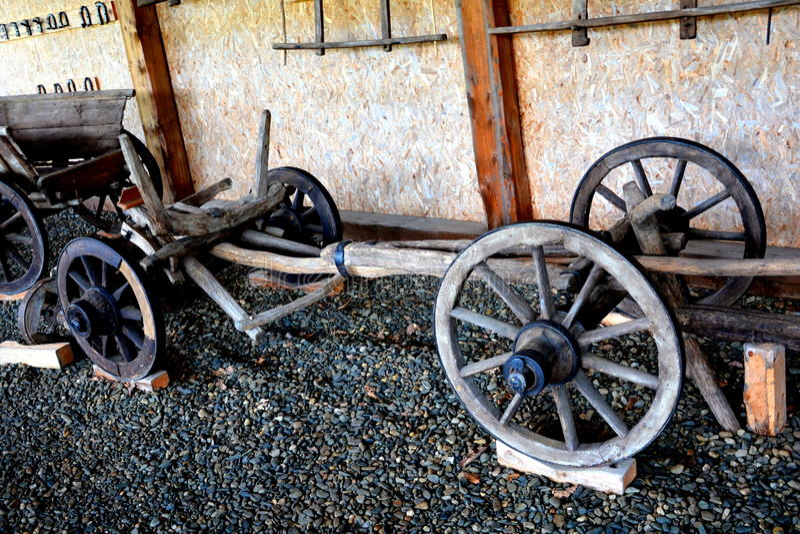 Румынский крестьянский музей в Dumbrava Sibiului, Трансильвании стоковые фотографии rf