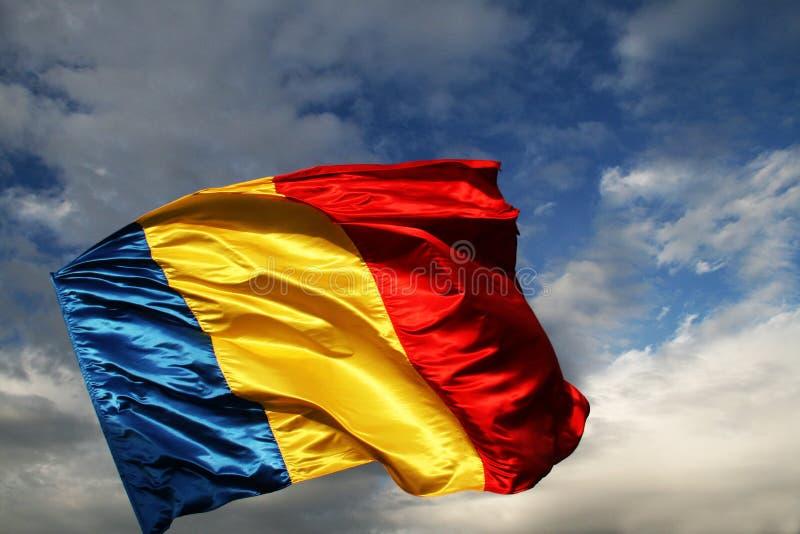 Румынский флаг стоковое фото