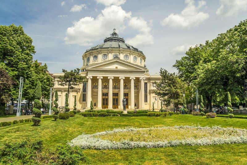 Румынский Athenaeum стоковое изображение