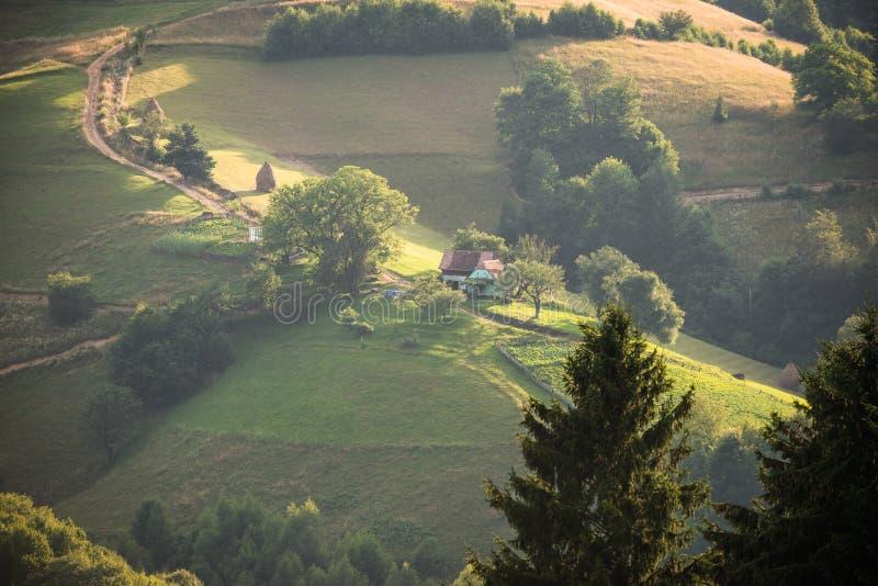 румынское село стоковое фото