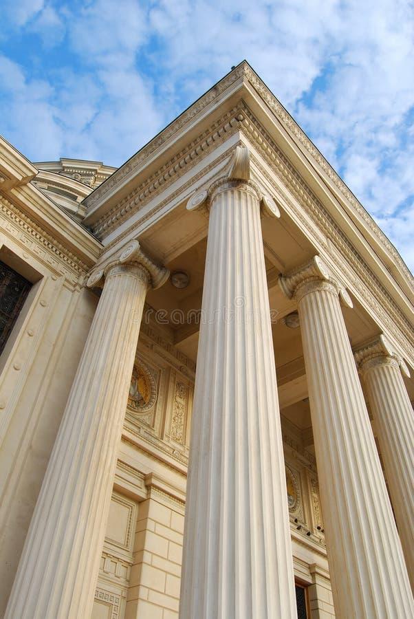 румын детали atheneum стоковое фото