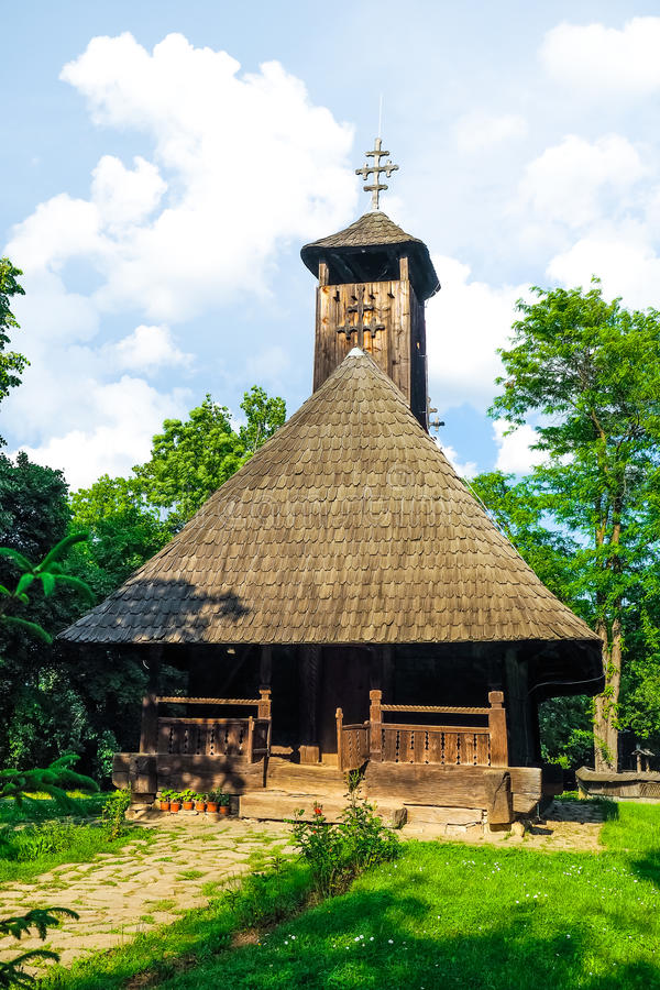 румын церков старый стоковое фото