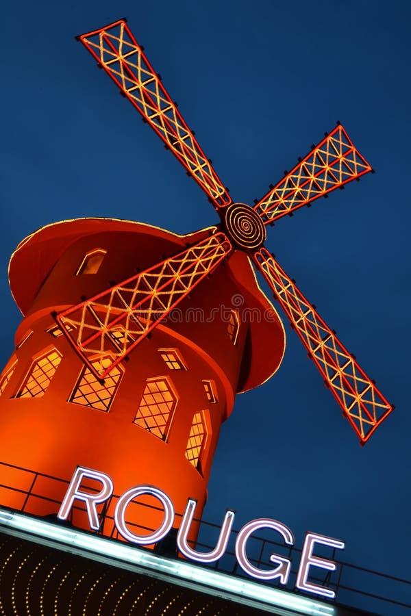 румян moulin стоковое изображение rf