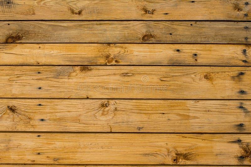 Русая деревянная поверхность планок, стены, таблицы, потолка или пола стоковые изображения rf