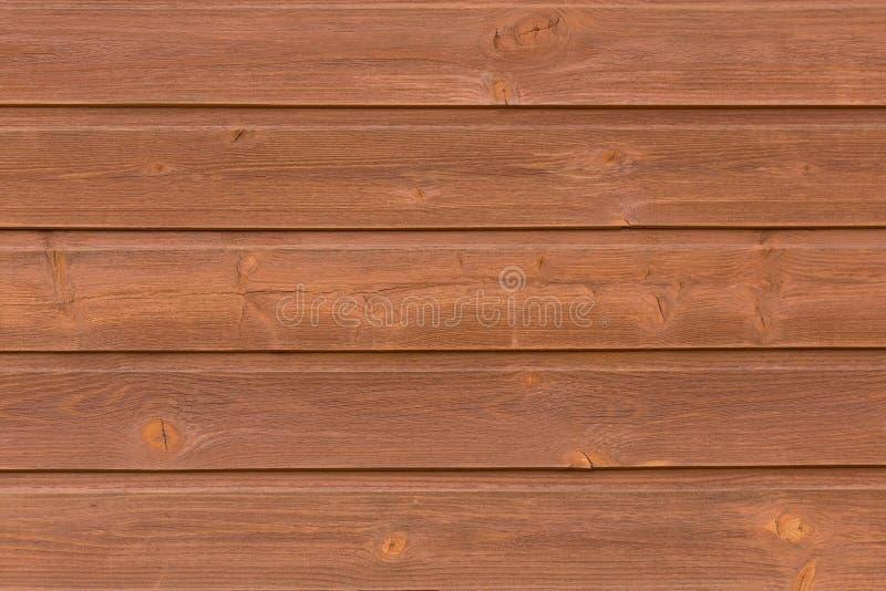 Русая деревянная предпосылка текстуры Деревянная текстура планок тимберса стоковые фотографии rf