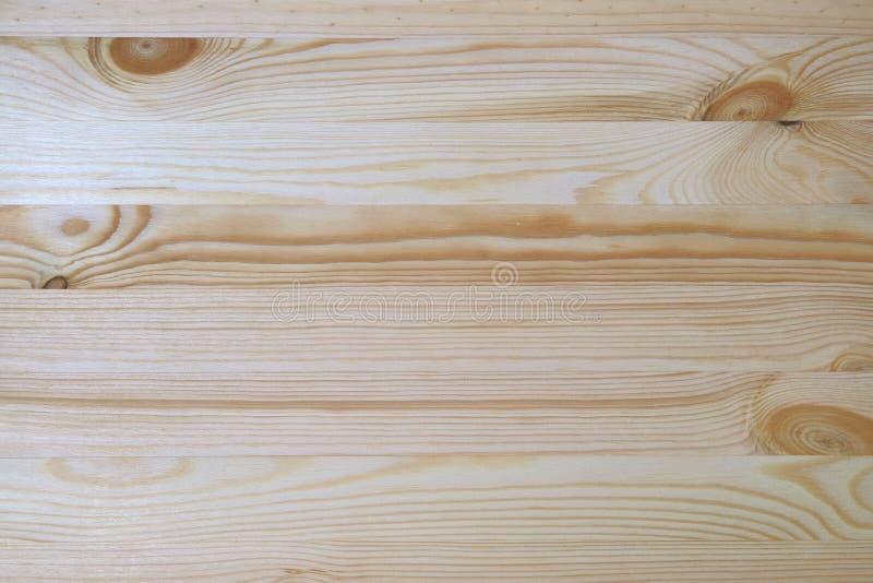 Русая естественная деревянная планка с красивой картиной, взгляд сверху поверхности таблицы стоковое изображение rf