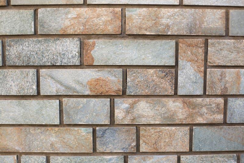 Русая предпосылка кирпичной стены стоковое изображение
