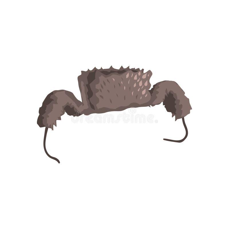 Русская крышка с щитками уха бесплатная иллюстрация