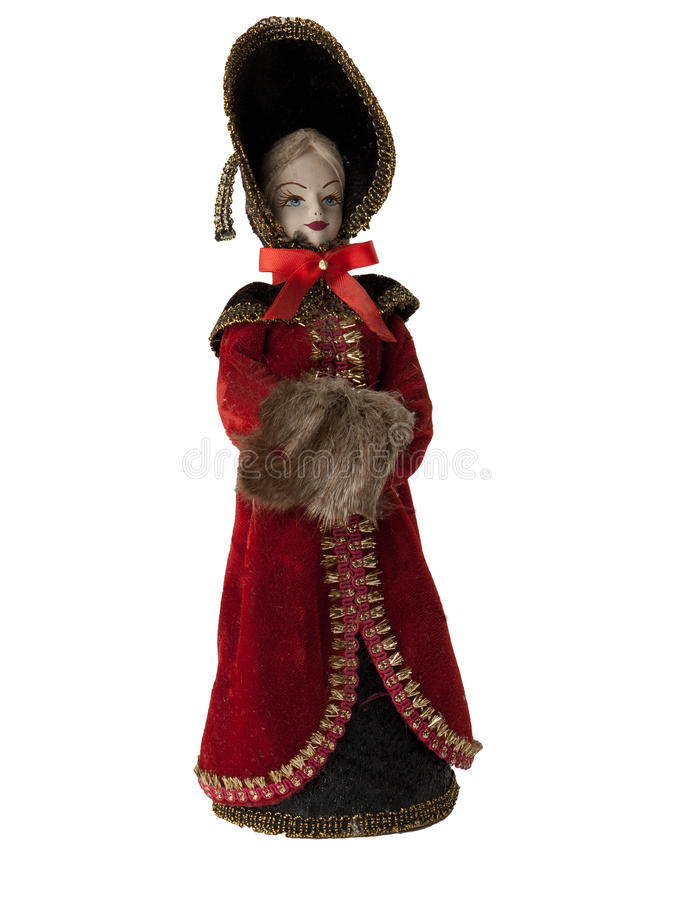 Русская кукла ферзя стоковые изображения