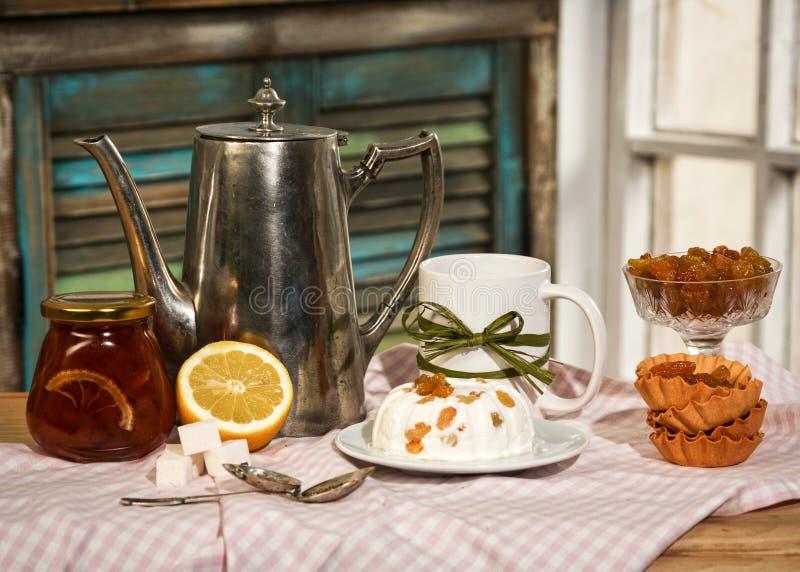 Русская кухня стоковое фото rf