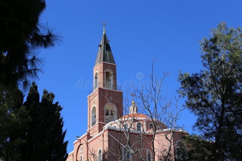 Русская церковь в Тель-Авив стоковые фото