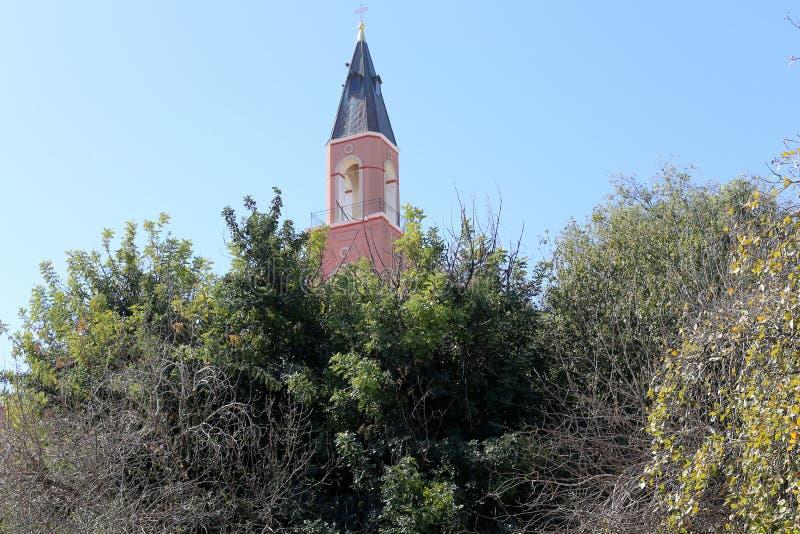 Русская церковь в Тель-Авив стоковое изображение rf