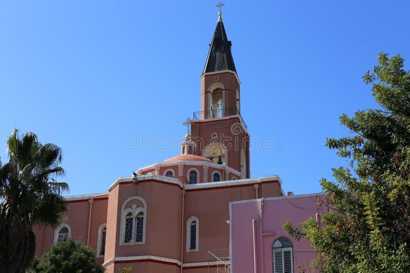 Русская церковь в Тель-Авив стоковая фотография