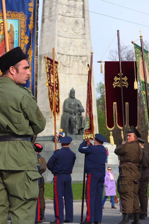 Русские военные традиции стоковое изображение