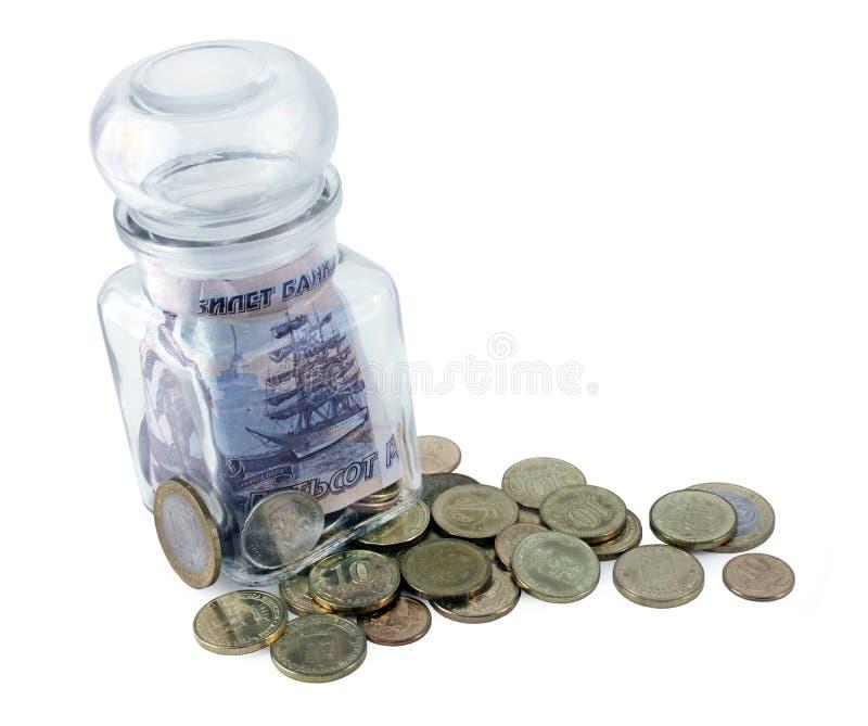 Русские деньги стоковая фотография rf