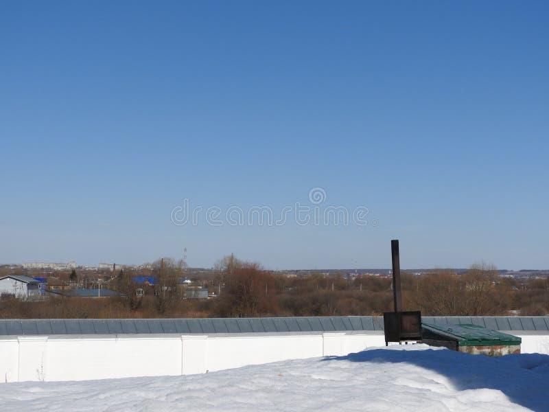 Русские природа и объекты в Pereslavl Zalessky, регионе Yaroslavl стоковое изображение