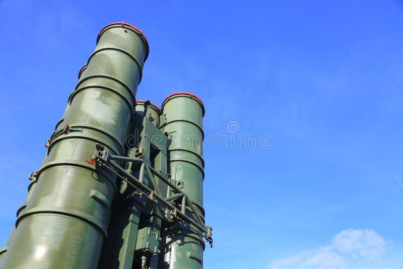 Русские ракетные комплексы S-300 стоковые изображения
