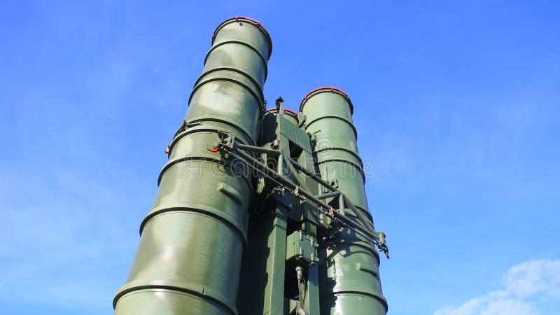 Русские ракетные комплексы S-300 стоковая фотография rf