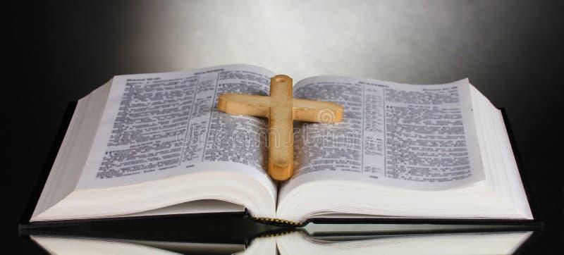 русский библии святейший открытый стоковое фото