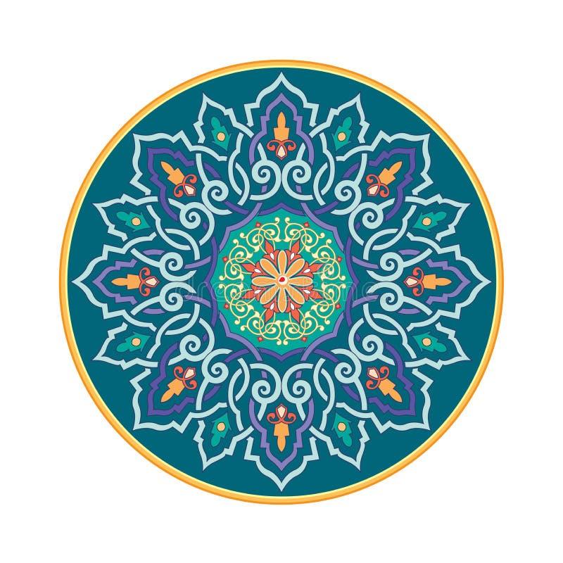 Русский кельтский восточный орнамент - дизайны иллюстрации иллюстрация штока