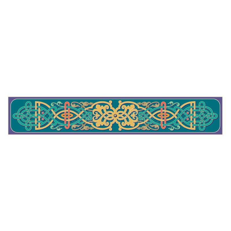Русский кельтский восточный орнамент - дизайны иллюстрации бесплатная иллюстрация