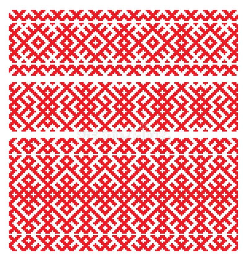 русский орнамента вышивки стоковые изображения rf