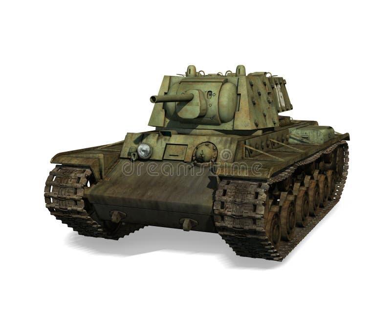Русский танк KV-1 иллюстрация штока
