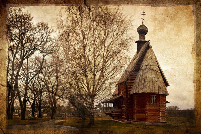 русский церков стоковое изображение