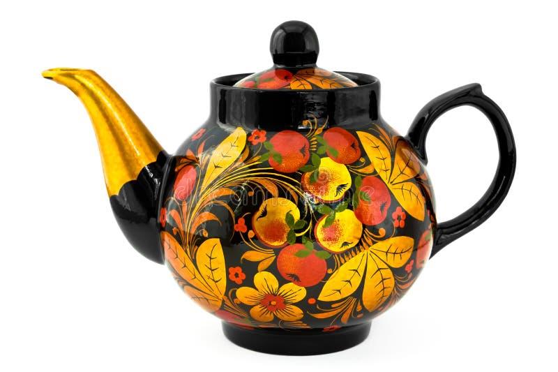 русский чайник стоковые фото