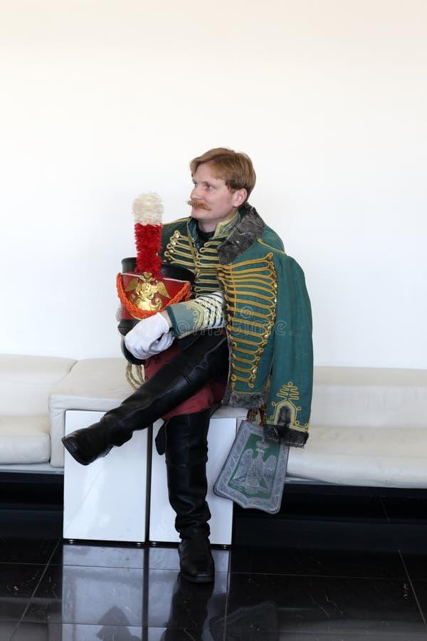 русский hussar стоковое изображение