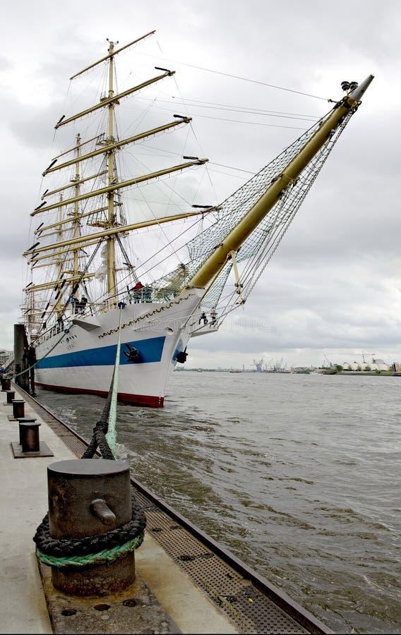 Русское парусное судно Mir стоковое изображение